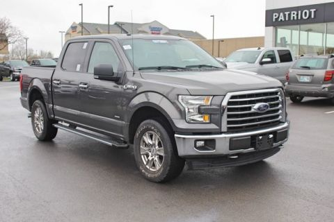 Pre-Owned 2017 Ford F-150 4WD 4D SuperCrew