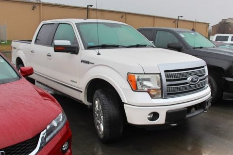 Pre-Owned 2011 Ford F-150 4WD 4D SuperCrew